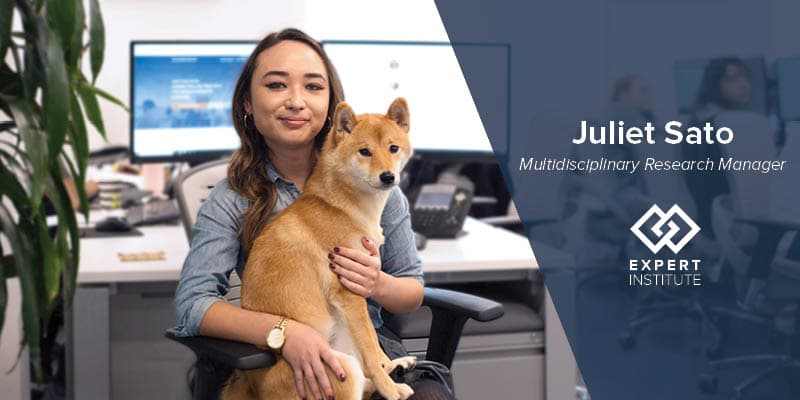 Meet The Expert Institute: Juliet Sato, Multidisciplinary Research Manager
